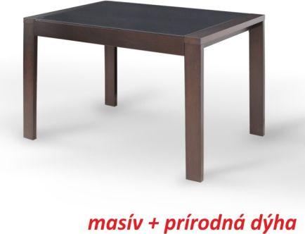 Jídelní stůl, rozkládací, wenge, JANADAN