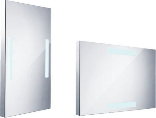 Koupelnové LED zrcadlo s ostrými rohy, 500x800mm
