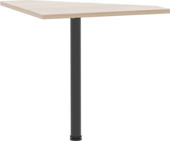 Rohový PC stůl, dub sonoma, JOHAN 06
