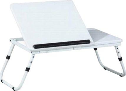 Skládací stolek na notebook EVALD, bílá