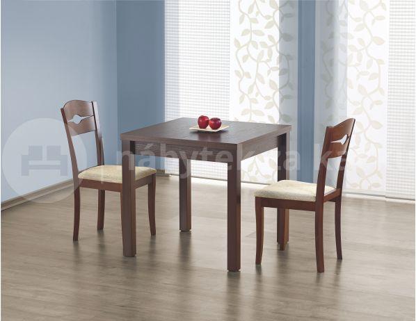 Jídelní stůl Gracjan, ořech tmavý