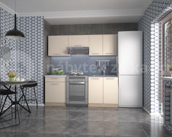 Kuchyňská linka Marija 200, dub sonoma/vanilka
