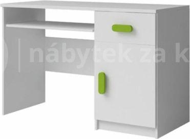 Bílý PC stůl SVEND
